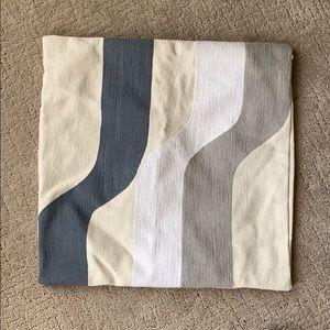 West Elm retro modern pillowcase